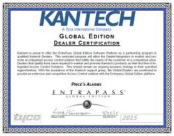Price's Alarms Kantech Global Dealer