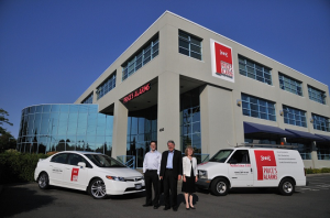 Price Family at Head Office in Victoria