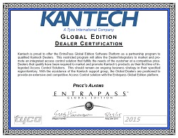 Price's Alarms Kantech Global Dealer