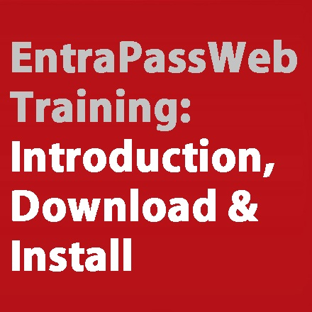 EntraPass Web Training
